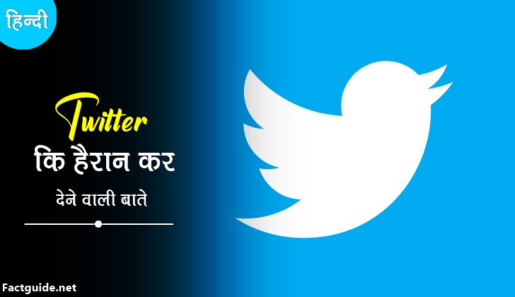 twitter facts in hindi
