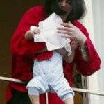 michael jackson son balcony