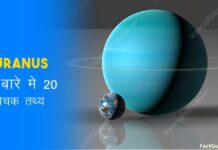 uranus facts in hindi