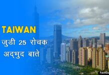 taiwan facts in hindi