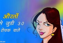 women facts in hindi