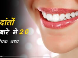 teeth facts in hindi
