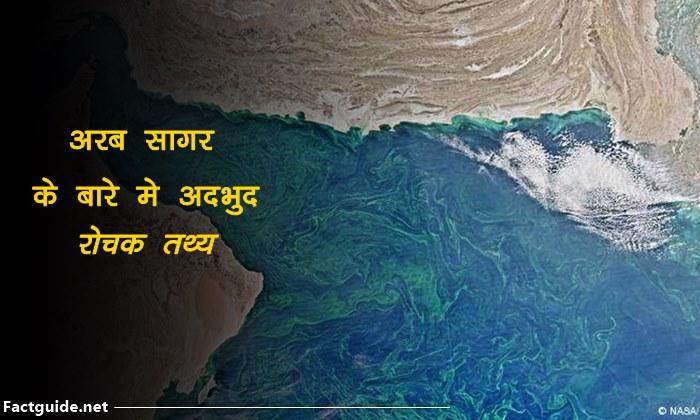 Arabian Sea facts In Hindi