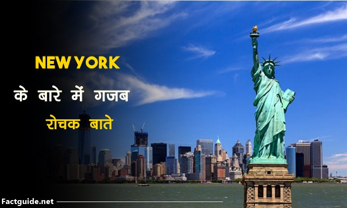 new york facts in hindi