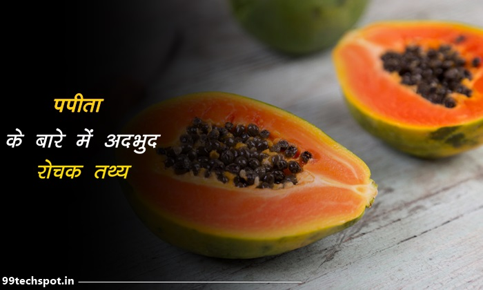 papaya facts in hindi