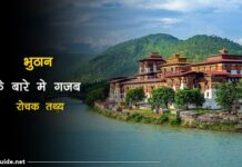 bhutan facts in hindi